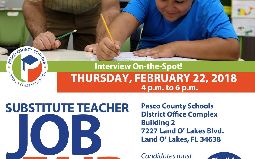 Substitute Job Fair