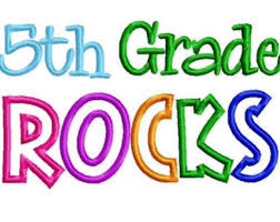 5th Grade End of Year Activities